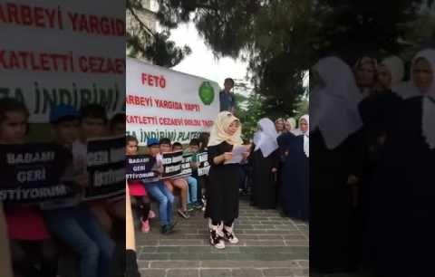 İstanbul'da Hükümlü Yakınları Af İstedi