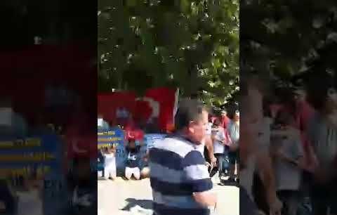 İzmir'de Hükümlü Yakınları Af İstedi